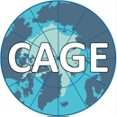 Logo for CAGE – Centre for Arctic Gas Hydrate, Environment and Climate